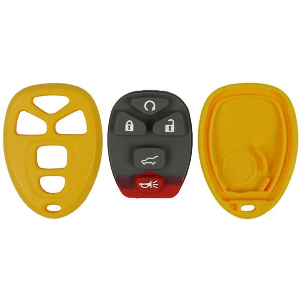 GM 5BTN CASE AND PAD FOR FCC# OUC - YELLOW<br/>